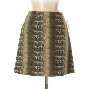NWT Alberto Makali textured Snake skin skirt,6